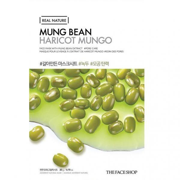THE FACE SHOP REAL NATURE - Mung Bean, 20 g