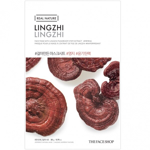 THE FACE SHOP REAL NATURE - Lingzhi, 20 g