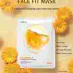 ISNTREE Calendula Poreless Face Fit Mask, 23 g