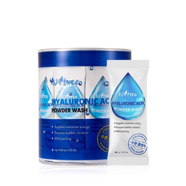 ISNTREE Hyaluronic Acid Powder Wash, 25 x 1 g