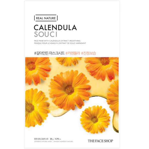 THE FACE SHOP REAL NATURE - Calendula, 20 g