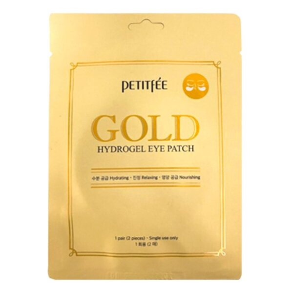 PETITFEE Gold Hydrogel Eye Patch, 2 p.