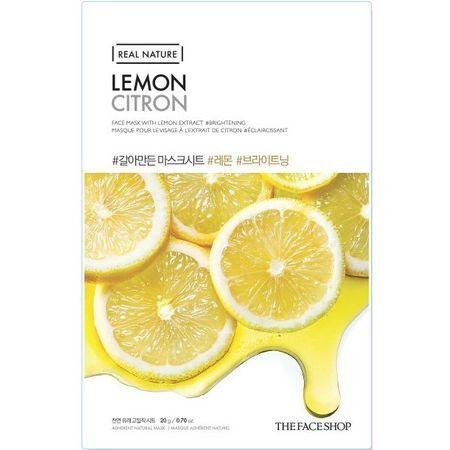 THE FACE SHOP REAL NATURE - Lemon, 20 g