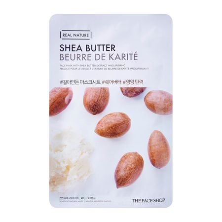 THE FACE SHOP REAL NATURE - Shea Butter, 20 g