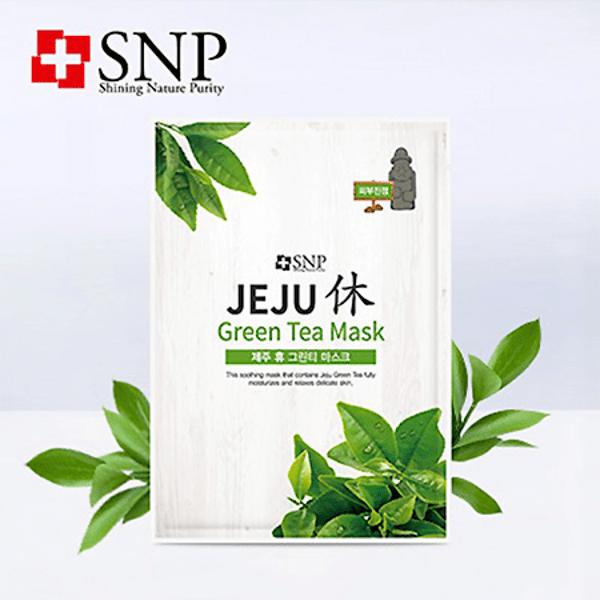 SNP маска за лице със зелен чай, 22 мл