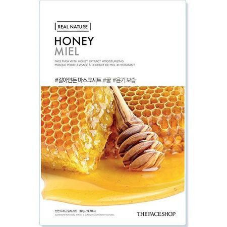THE FACE SHOP REAL NATURE - Honey, 20 g