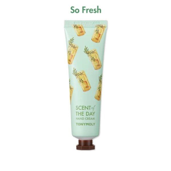 TONYMOLY Scent of the Day Hand Cream #So Fresh, 30 ml