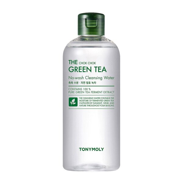 TONYMOLY The Chok Chok Green Tea No-Wash Cleansing Water, 300 ml
