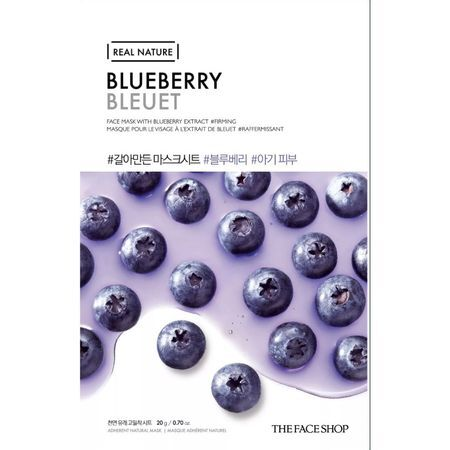 THE FACE SHOP REAL NATURE - Blueberry, 20 g
