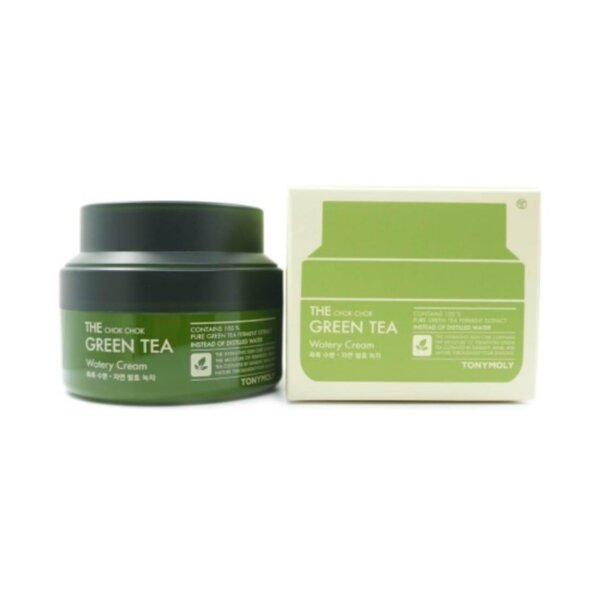 TONYMOLY The Chok Chok Green Tea Watery Cream, 60 ml