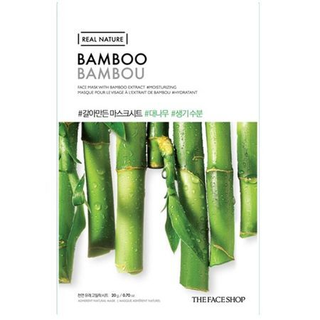 THE FACE SHOP REAL NATURE - Bamboo, 20 g