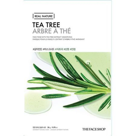 THE FACE SHOP REAL NATURE - Tea Tree, 20 g