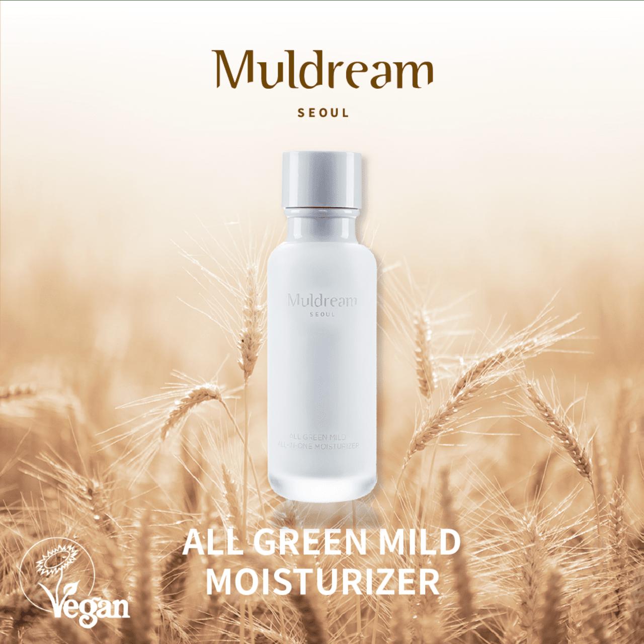 MULDREAM All Green Mild All In One Moisturizer, 110 ml