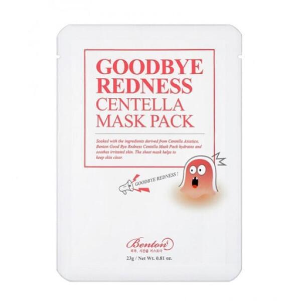 BENTON Goodbye Redness Centella Mask Pack, 23 g