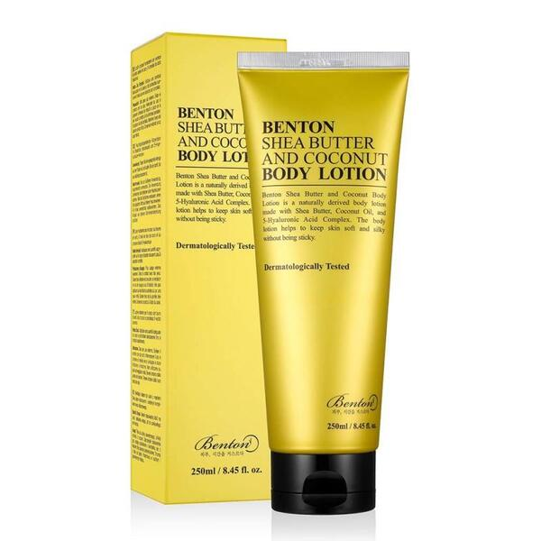 BENTON Shea Butter and Coconut Body Lotion, 250 ml