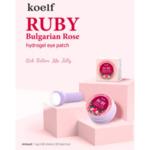 KOELF Ruby & Bulgarian Rose Hydrogel Eye Patch, 60 p.