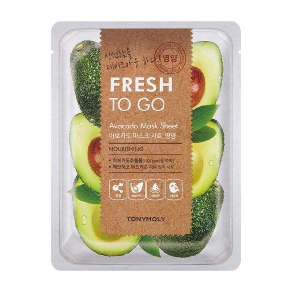 TONYMOLY Fresh To Go - Avocado, 25 g