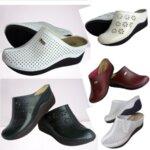 Анатомично дамско сабо VIP STAR, удобната обувка за работа и всекидневието