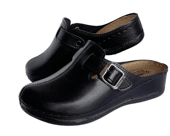 Дамски удобни чехли MULEX за широки крака