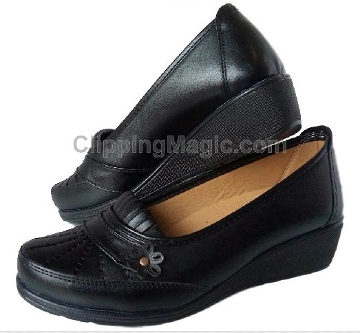 Черни дамски пролетни обувки MUGETTI с ортопедична стелка