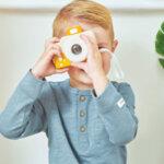 Детски дървен фотоапарат