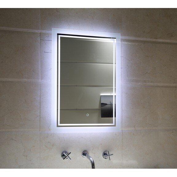 """LED огледало за баня """"ЕЛИНА"""" ICL 1497 с нагревател"""