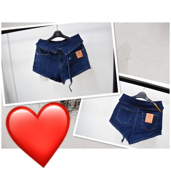 Къси панталонки с коланче
