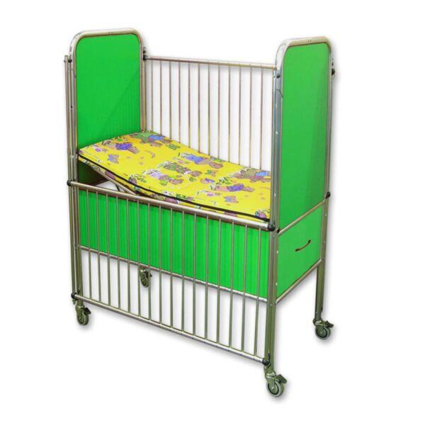 Детско болнично легло с шкафче за дрехи