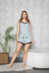 Дамска пижама с тънки презрамки Points