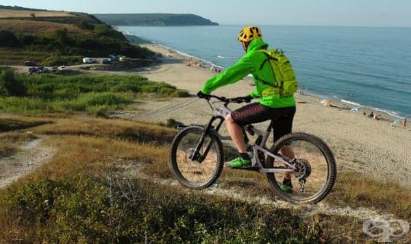 Карането на електрически велосипед е полезно за здравето