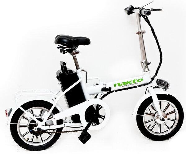 Електрически сгъваем велосипед Nakto 14 инча 36V 12A 250W