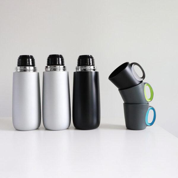 Bopp 600 | Стоманен термос с чаша