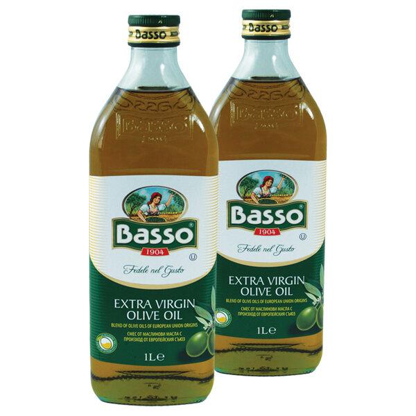 КУПИ 2 ПЛАТИ 1 BASSO Масло маслиново Extra Virgin 1 л.