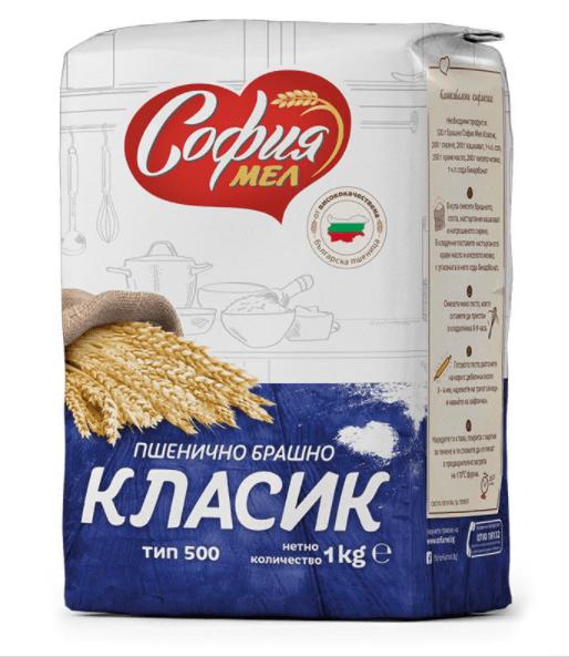 СОФИЯ МЕЛ Брашно Класик Тип 500 - 1 кг