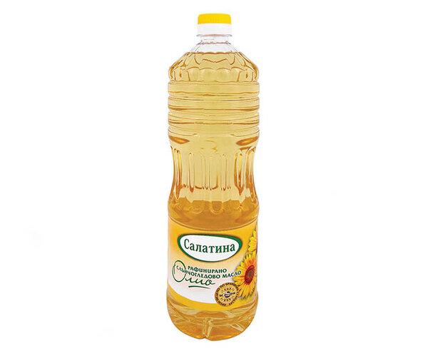 Олио Салатина слънчогледово 1л
