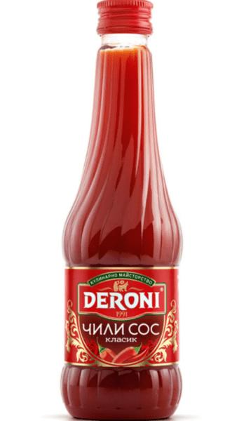 Deroni чили сос класик 290 гр