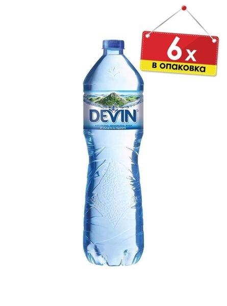 Минерална вода Devin / Девин (6 х 1.5 л)