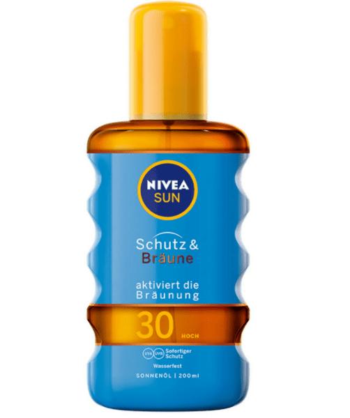 Олио за Тяло Nivea Sun Protect&Bronze SPF30 200 мл