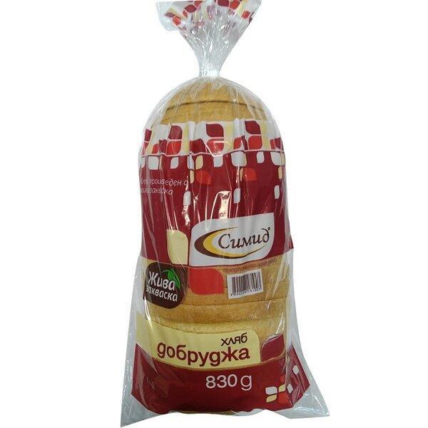 Хляб СИМИД Добруджа нарязан 830 г