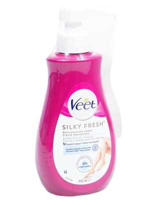 400мл. Депилиращ Крем За Тяло Silk And Fresh За Чувствителна Кожа Виит / Veet