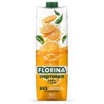 FLORINA Портокал 100% 1 л.
