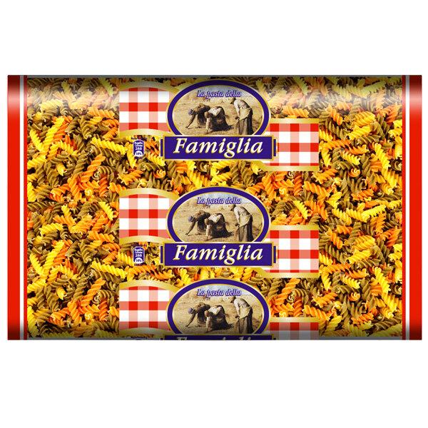 FAMIGLIA Pasta Fusilli Tricolore Трицветни Фусили 3 кг.