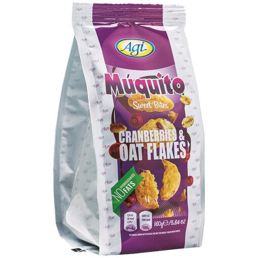 AGI Сладки хапки мукито с боровинка и овес 160 гр.