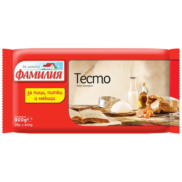 ФАМИЛИЯ Тесто за пици, питки и мекици 2х400гр.