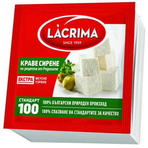 LACRIMA Краве сирене Екстра вакуум 700 гр.
