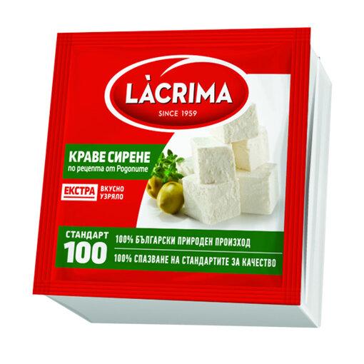 LACRIMA Краве сирене Екстра вакуум 350 гр.