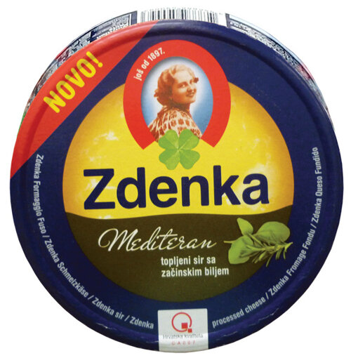 ZDENKA Топено сирене с подправки 140 гр.