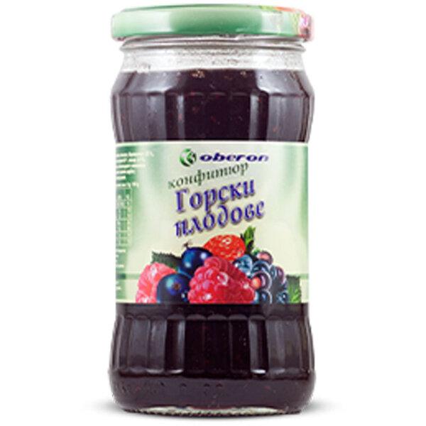 OBERON Конфитюр горски плод буркан 350 гр.
