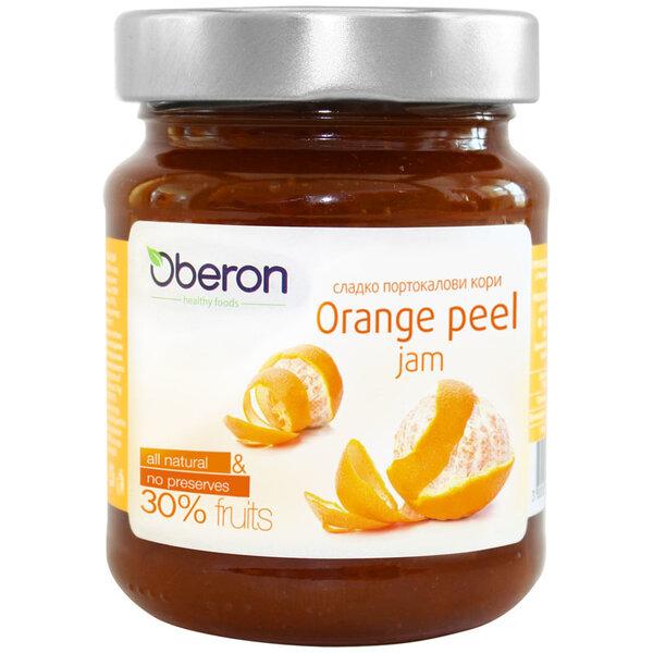 OBERON Конфитюр портокал буркан 30% 350 гр.