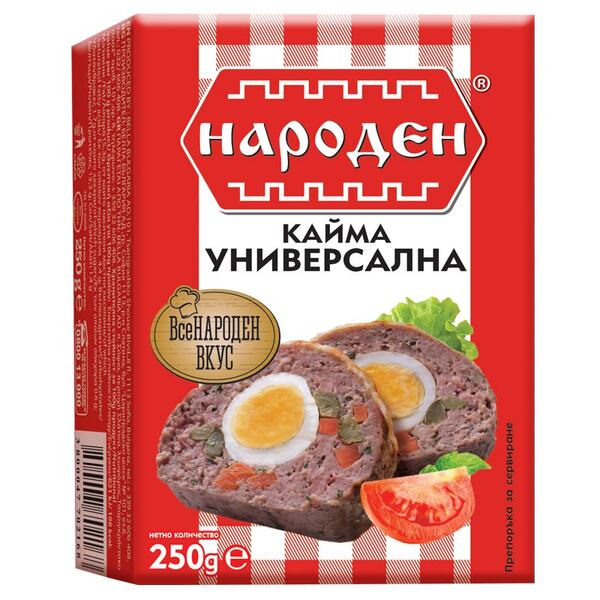 НАРОДЕН Кайма универсална 250 гр.